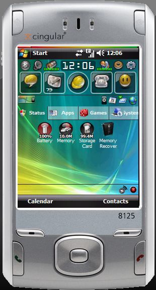 HTC Wizard with WinMo 6.1